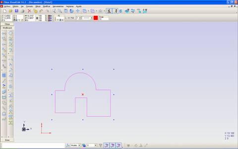 selección de geometría